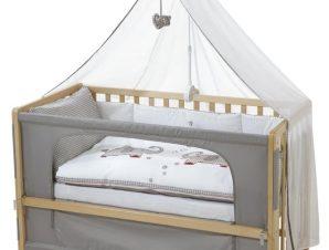 Πλήρες βρεφικό κρεβάτι Ζωάκια του Δάσους II