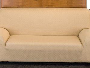 Ελαστικά Καλύμματα Καναπέ Miro-Πολυθρόνα-Μπεζ-10+ Χρώματα Διαθέσιμα-Καλύμματα Σαλονιού