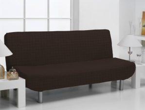 Ελαστικά Καλύμματα Καναπέ Κρεβάτι Click Clack Bielastic Alaska-Καφέ