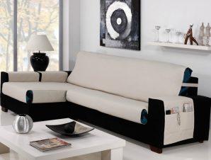 Καλύμματα καναπέ Γωνία Universal Banes – C/2 Μπεζ – Δεξιά 275cm