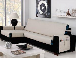Καλύμματα καναπέ Γωνία Universal Banes-Αριστερη 275cm-Ιβουάρ