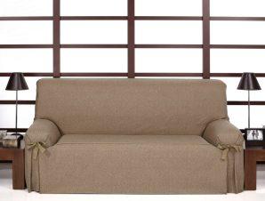 Καλύμματα καναπέ σταθερά με δέστρες Banes-Πολυθρόνα-C/3 Καφέ-10+ Χρώματα Διαθέσιμα-Καλύμματα Σαλονιού
