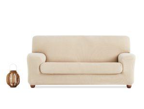 Ελαστικά Καλύμματα Καναπέ Ξεχωριστό Μαξιλάρι Creta – C/1 Ιβουάρ – Πολυθρόνα-10+ Χρώματα Διαθέσιμα-Καλύμματα Σαλονιού
