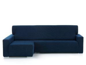 Ελαστικά καλύμματα γωνιακού καναπέ Bielastic Viena-Αριστερη-Μπλε