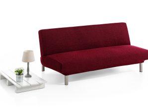 Ελαστικά Καλύμματα Καναπέ Κρεβάτι Click Clack Bielastic Viena-Μπορντώ