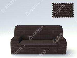 Ελαστικά καλύμματα καναπέ Ibiza-Τετραθέσιος-Μαύρο-10+ Χρώματα Διαθέσιμα-Καλύμματα Σαλονιού