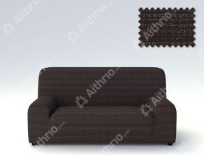 Ελαστικά καλύμματα καναπέ Ibiza-Τριθέσιος-Μαύρο-10+ Χρώματα Διαθέσιμα-Καλύμματα Σαλονιού