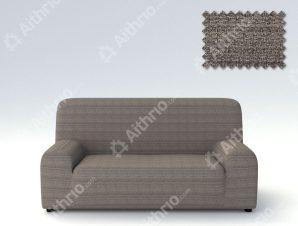 Ελαστικά καλύμματα καναπέ Ibiza-Τετραθέσιος-Γκρι-10+ Χρώματα Διαθέσιμα-Καλύμματα Σαλονιού