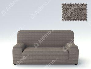 Ελαστικά καλύμματα καναπέ Ibiza-Τριθέσιος-Γκρι-10+ Χρώματα Διαθέσιμα-Καλύμματα Σαλονιού