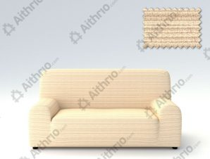 Ελαστικά καλύμματα καναπέ Ibiza-Τετραθέσιος-Ιβουάρ-10+ Χρώματα Διαθέσιμα-Καλύμματα Σαλονιού