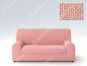 Ελαστικά Καλύμματα Καναπέ, Πολυθρόνας Λύκρα- σχ. Ξεχωριστό Μαξιλάρι Bielastic Alaska – C/22 Ροζ – Διθέσιος-10+ Χρώματα Διαθέσιμα-Καλύμματα Σαλονιού