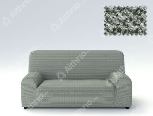 Ελαστικά Καλύμματα Προσαρμογής Σχήματος Καναπέ Milos – C/10 Γκρι – Διθέσιος-10+ Χρώματα Διαθέσιμα-Καλύμματα Σαλονιού