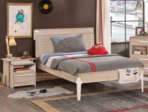 Παιδικό κρεβάτι ημίδιπλο D-1312 USB CHARGING