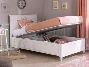 Παιδικό κρεβάτι με αποθηκευτικό χώρο RO-1707 – RO-1707