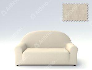 Ελαστικά Καλύμματα Καναπέ Αχιβάδα, Πολυθρόνας σχ. Peru-Ιβουάρ-Πολυθρόνα-10+ Χρώματα Διαθέσιμα-Καλύμματα Σαλονιού