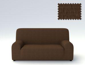Ελαστικά καλύμματα καναπέ Peru-Πολυθρόνα-Καφέ-10+ Χρώματα Διαθέσιμα-Καλύμματα Σαλονιού
