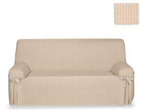 Καλύμματα καναπέ σταθερά με δέστρες Praga-Λινό-Διθέσιος