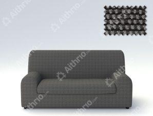 Ελαστικά καλύμματα καναπέ Ξεχωριστό Μαξιλάρι Bielastic Viena-Τετραθέσιος-Γκρι-10+ Χρώματα Διαθέσιμα-Καλύμματα Σαλονιού