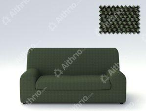 Ελαστικά καλύμματα καναπέ Ξεχωριστό Μαξιλάρι Bielastic Viena-Διθέσιος-Πράσινο-10+ Χρώματα Διαθέσιμα-Καλύμματα Σαλονιού