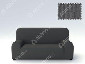 Ελαστικά καλύμματα καναπέ Tania-Πολυθρόνα-Γκρι-10+ Χρώματα Διαθέσιμα-Καλύμματα Σαλονιού