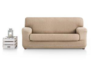 Ελαστικά καλύμματα καναπέ Ξεχωριστό Μαξιλάρι Valencia-Τριθέσιος-Μπεζ-10+ Χρώματα Διαθέσιμα-Καλύμματα Σαλονιού