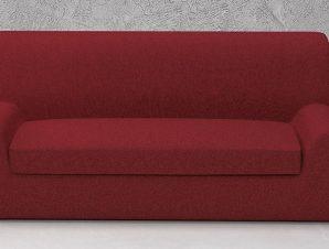 Ελαστικά καλύμματα καναπέ Ξεχωριστό Μαξιλάρι Valencia-Πολυθρόνα-Μπορντώ-10+ Χρώματα Διαθέσιμα-Καλύμματα Σαλονιού