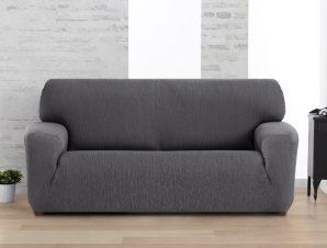 Ελαστικά καλύμματα καναπέ Valencia-Τετραθέσιος-Γκρι-10+ Χρώματα Διαθέσιμα-Καλύμματα Σαλονιού