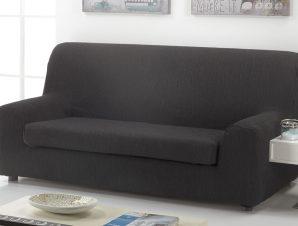 Ελαστικά καλύμματα καναπέ Ξεχωριστό Μαξιλάρι Valencia-Τριθέσιος-Μαύρο-10+ Χρώματα Διαθέσιμα-Καλύμματα Σαλονιού