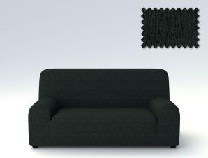 Ελαστικά καλύμματα καναπέ Valencia-Πολυθρόνα-Μαύρο-10+ Χρώματα Διαθέσιμα-Καλύμματα Σαλονιού