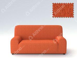Ελαστικά καλύμματα καναπέ Valencia-Τετραθέσιος-Πορτοκαλί