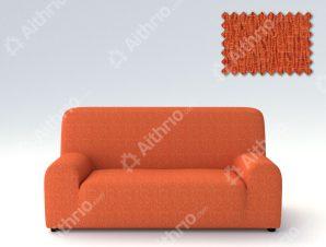 Ελαστικά καλύμματα καναπέ Valencia-Τριθέσιος-Πορτοκαλί