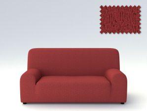 Ελαστικά καλύμματα καναπέ Valencia-Πολυθρόνα-Κεραμιδί-10+ Χρώματα Διαθέσιμα-Καλύμματα Σαλονιού