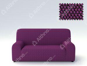 Ελαστικά Καλύμματα Προσαρμογής Σχήματος Καναπέ Viena – C/9 Μωβ – Πολυθρόνα-10+ Χρώματα Διαθέσιμα-Καλύμματα Σαλονιού